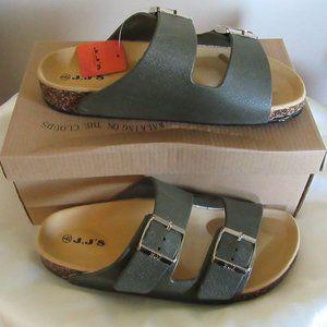 Ladies sandals slip - adjusting straps Size 7-8- 9